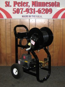 1500 PSI 2.2 GPM Electric Cold Cart With Reel