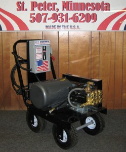 1500 PSI 10 GPM Electric Cold Cart