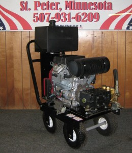3500 PSI 8 GPM Gas Cold Cart
